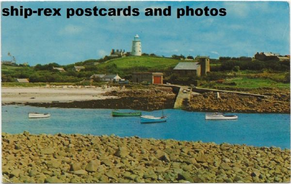 St Agnes Lighthouse (Isles Of Scilly) postcard